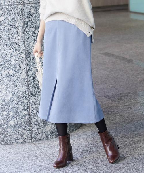 見事な創造力 フェイクスエードマーメイドスカート(スカート)|ROPE