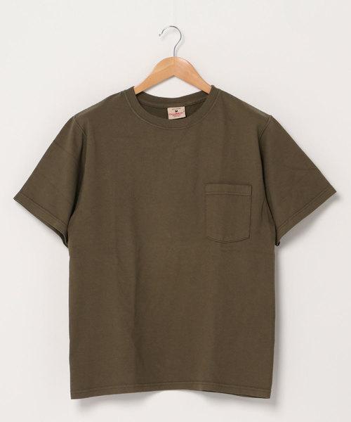 【Goodwear】DC レギュラーフィット半袖クルーネック ポケットTシャツ