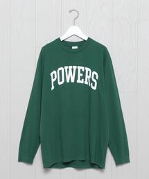 <POWERS>ARCH LONG SLEEVE T-SHIRT/Tシャツ.