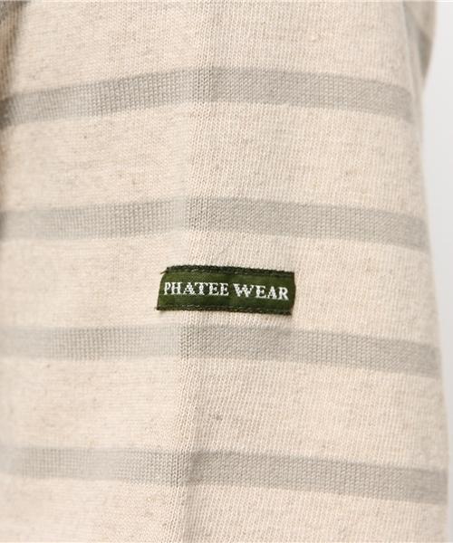 【PHATEE】ファティー スペリオール ボートネック L/S Tシャツ