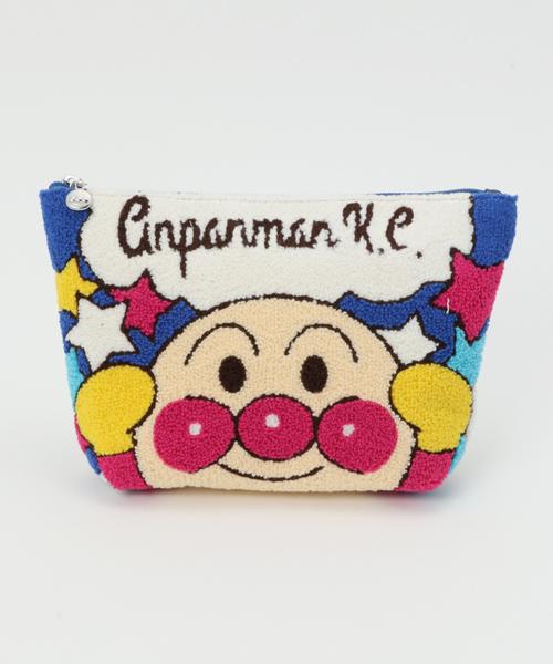 7efc5a03e09fd ANPANMAN KIDS COLLECTION(アンパンマンキッズコレクション)の アンパンマン さがら刺繍ポーチアンパンマン