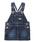 DOUBLE_B(ダブルビー)の「スタンダードサロペットスカート(ジャンパースカート)」|インディゴブルー