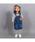 DOUBLE_B(ダブルビー)の「スタンダードサロペットスカート(ジャンパースカート)」|詳細画像