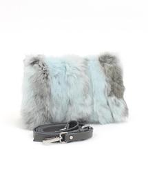 GIANNI NOTARO Carol J.(ジャンニ・ノターロ キャロルジェイ)/Fur clutch(ラビットファークラッチバッグ)(クラッチバッグ)