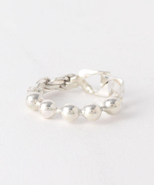 <WWW. WILL SHOTT> 3LINK FUSED RING/リング