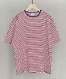 【別注】 <Robert P Miller> NEW BORDER TEE/Tシャツ