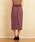 Emsexcite(エムズエキサイト)の「綿サテンナロースカート(スカート)」|詳細画像