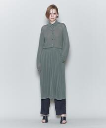 <6(ROKU)>HIGH GAUGE SKIRT/スカート