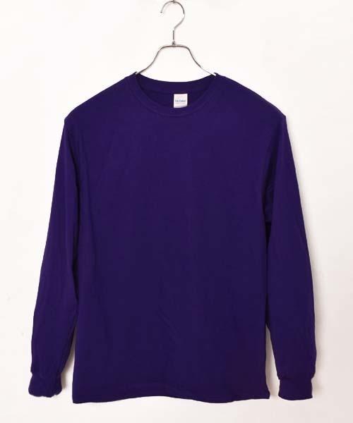 ギルダン ビッグシルエット USAオーバーサイズ ロングスリーブTシャツ(BY)