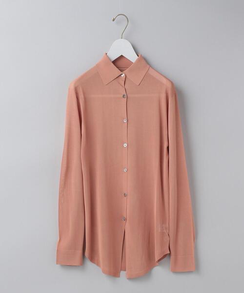 <6(ROKU)>HIGH GAUGE SHIRT/シャツ ◆