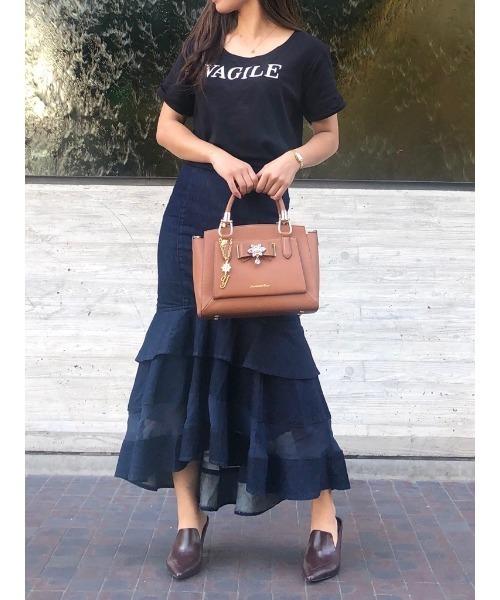 最低価格の Samanthaビジューリボンバッグ(小)(ハンドバッグ) Samantha Vega(サマンサベガ)のファッション通販, パール優美:0ce874aa --- 888tattoo.eu.org