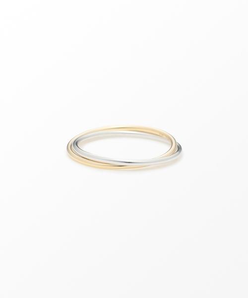 【大注目】 K10YG/WG コンビカラー コンビカラー ピンキーリング(リング)|Jouete(ジュエッテ)のファッション通販, 時計倉庫TOKIA:f7cefaa0 --- skoda-tmn.ru