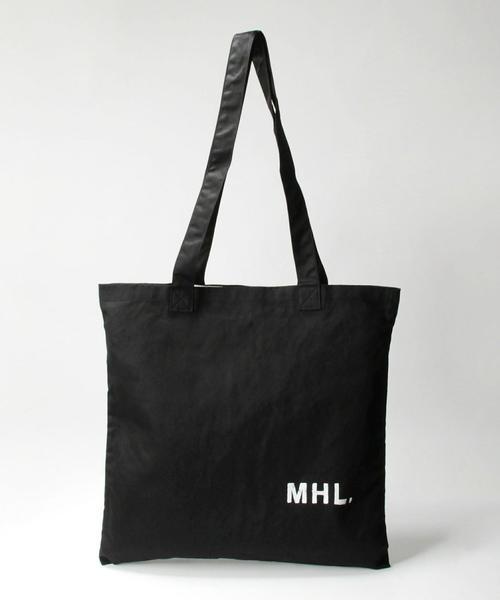 <MHL.> LIGHT TOTE/バッグ