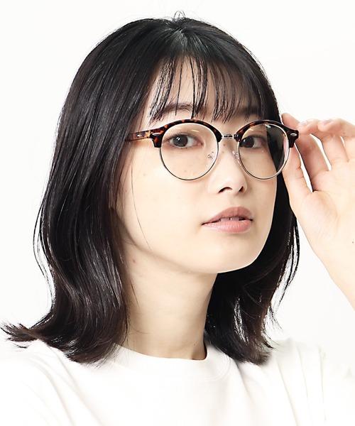 ボストン型伊達眼鏡 SPG-9453 SPI