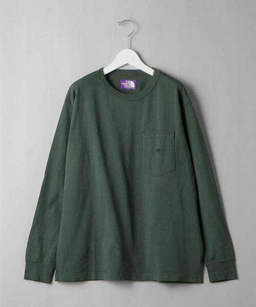 <THE NORTH FACE PURPLE LABEL> 7OZ L/S POCKET TEE/カットソー