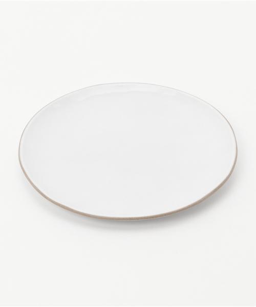 collex(コレックス)の「【ブラッククレイ】プレートS(食器)」|ホワイト