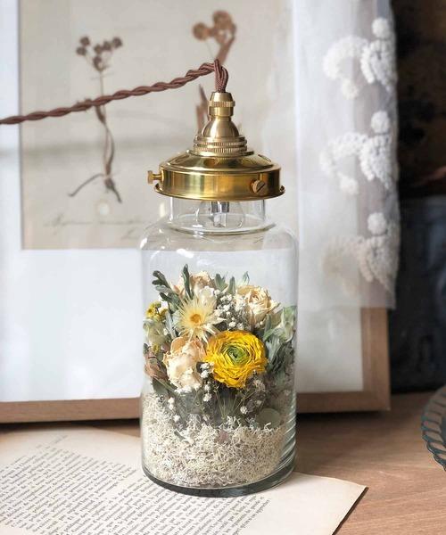 flower bottle light*(フラワーボトルライト/中)