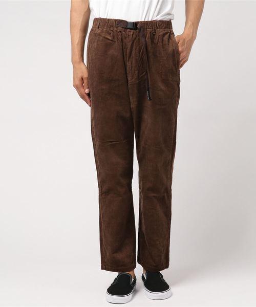 MANASTASH(マナスタッシュ)の「MANASTASH/マナスタッシュ CORDUROY CLIMB PANTS/コーデュロイ クライム パンツ(パンツ)」|モカ