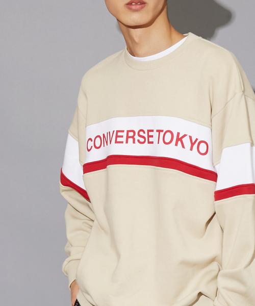 【後払い手数料無料】 CONVERSE TOKYO配色切り替えスウェット(スウェット)|CONVERSE TOKYO(コンバーストウキョウ)のファッション通販, KIRARA by shin:abfd3100 --- fahrservice-fischer.de