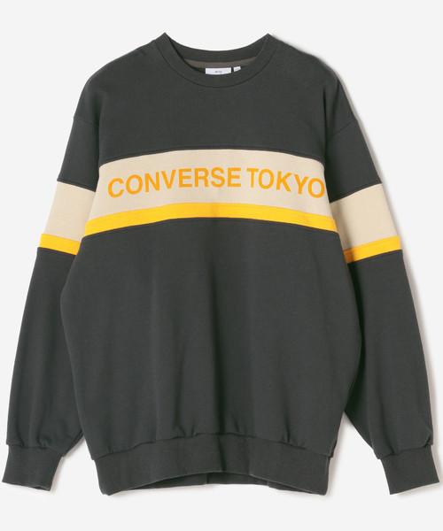 新素材新作 CONVERSE TOKYO配色切り替えスウェット(スウェット)|CONVERSE TOKYO(コンバーストウキョウ)のファッション通販, シロヤママチ:89e25f09 --- fahrservice-fischer.de