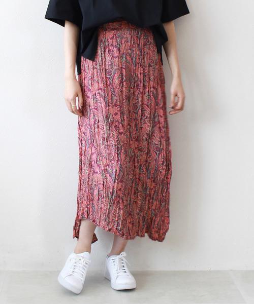 (訳ありセール 格安) Sugar Rose/ paisley Rose pattern pattern crinkle paisley skirt(シワ加工ペイズリー柄スカート)(スカート)|DRESSLAVE(ドレスレイブ)のファッション通販, 健康セレクション:5e5cb2e4 --- heimat-trachtenbote.de