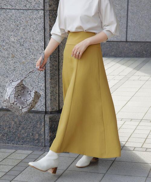 マーメイド フレア スカート