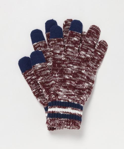 FREAK'S STORE(フリークスストア)の「WEB限定 スラブライングローブ(手袋)」|ワインレッド