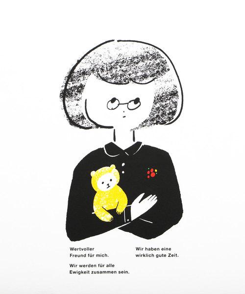 ベーシックTシャツ/ガールウィズドール
