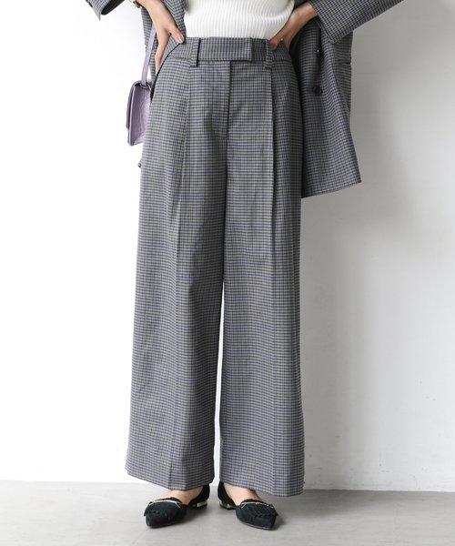 独特の素材 【セール】チェックストレートパンツ(パンツ) BABYLONE(バビロン)のファッション通販, 安い割引:6e9c49d6 --- innorec.de