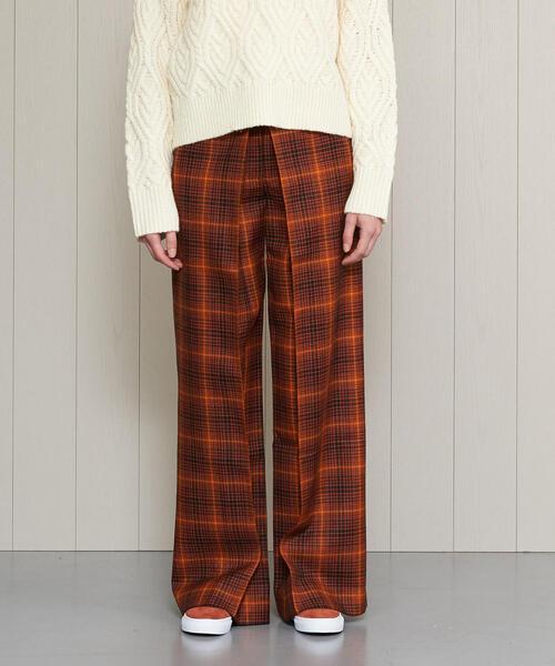 【海外限定】 <AALTO>CHECK UNITED TUCK TUCK PANTS/パンツ(パンツ)|Aalto(アールト)のファッション通販, ラビットショップ:a5937e57 --- tsuburaya.azurewebsites.net