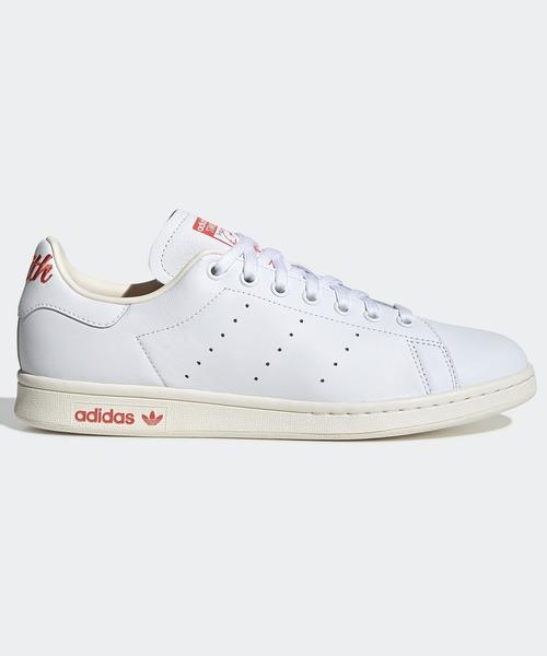 adidas(アディダス)の「スタンスミス [STAN SMITH] アディダスオリジナルス(スニーカー)」 ホワイト×レッド
