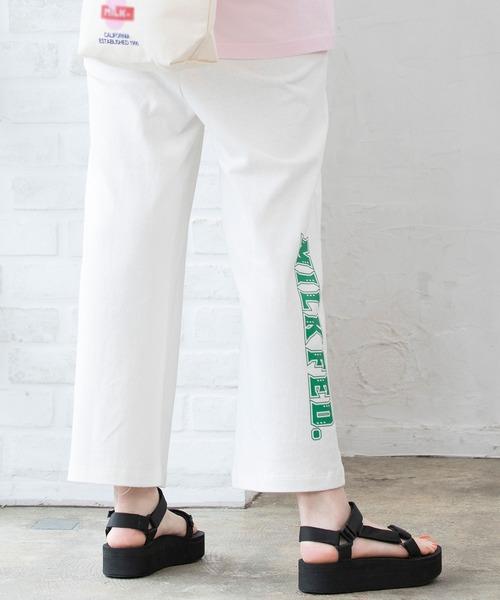 MILKFED.(ミルクフェド)の「LOGO PANTS(その他パンツ)」 ホワイト