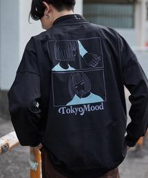 シルケットライク天竺 オーバーサイズイラストプリントL/Sカットソー/プリントロンT/Tokyo Mood/Best Friend Forever/I can always/Keep your Hairon/American Cocker Spaniel/French Bulldogその他9