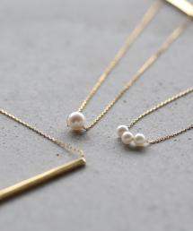 ANEMONE(アネモネ)の本真珠の一粒パールネックレス[ジャルビジュー](ネックレス)