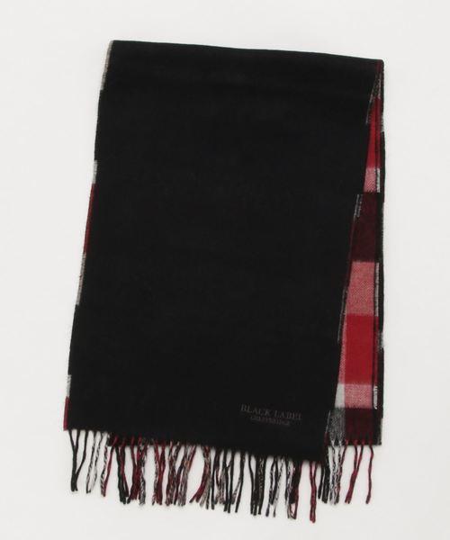 期間限定特別価格 リバーシブルクレストブリッジチェックマフラー(マフラー BLACK/ショール) LABEL BLACK LABEL LABEL CRESTBRIDGE(ブラックレーベル・クレストブリッジ)のファッション通販, G-trade JAPAN:3c4af822 --- kredo24.ru