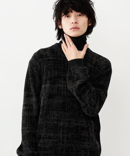 納得できる割引 【セール】【STUDIOUS】アブストラクトチェックジャカードニット(ニット/セーター)|STUDIOUS(ステュディオス)のファッション通販, ヨイチチョウ:5f2a25e6 --- kraltakip.com