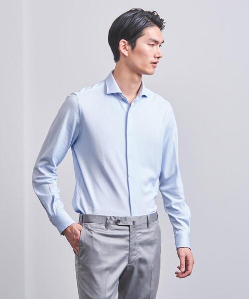 UADT FUNCTION/HNCM ワイドカラー シャツ