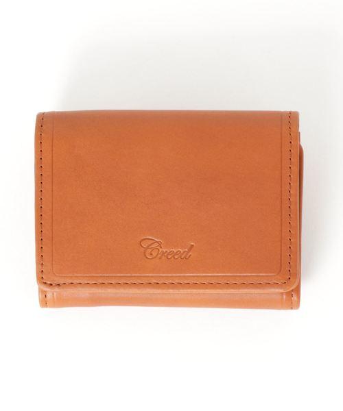 Creed(クリード)の「WATER PROOF < ウォータープルーフ > / 三つ折りウォレット(財布)」|キャメル