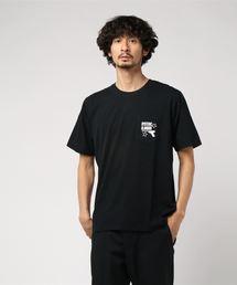 KILLER LOOKS pt ポケ付Tシャツブラック