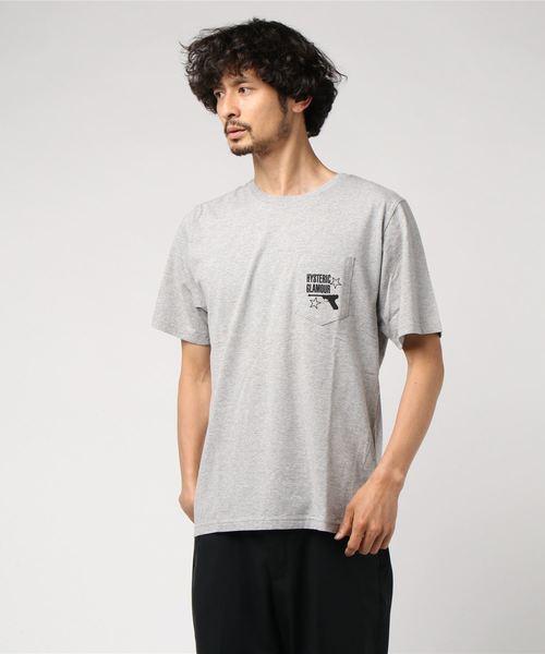 KILLER LOOKS pt ポケ付Tシャツ