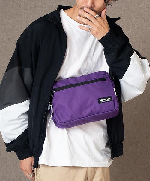 【FIRST DOWN-EX/ファーストダウン】リフレクター ミニ ショルダーバッグ