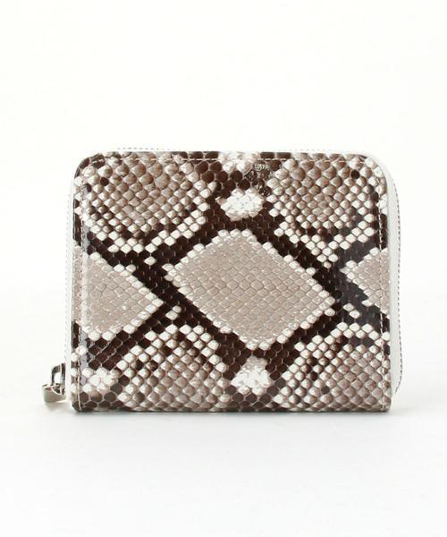 Hender Scheme(エンダー スキーマ)python sq zip purse■■■