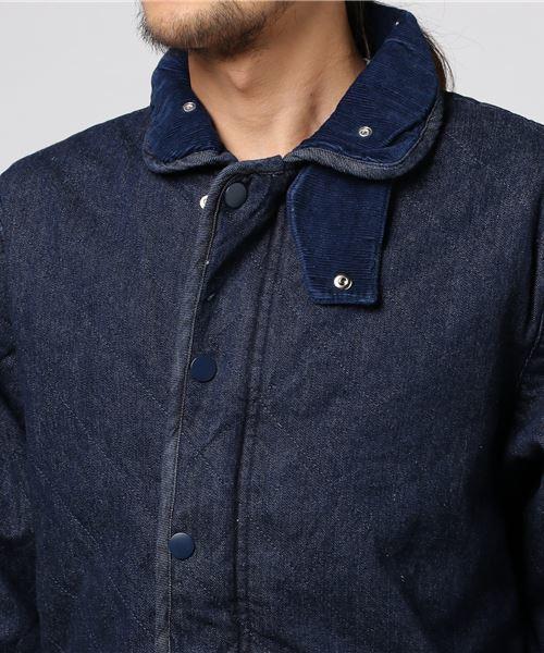 【UNIVERD72】デニムキルティングジャケット