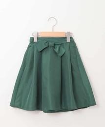 a.v.v(アー・ヴェ・ヴェ)の[100-130]グログランリボンスカート[WEB限定サイズ](スカート)
