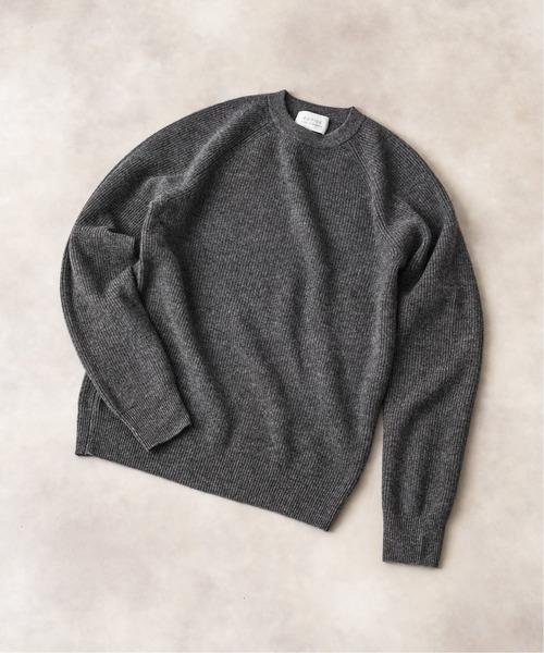 【お買得!】 カシミア 畔クルーネックニット(ニット/セーター)|EDIFICE(エディフィス)のファッション通販, たまごの絵webshop:c80e537c --- fahrservice-fischer.de