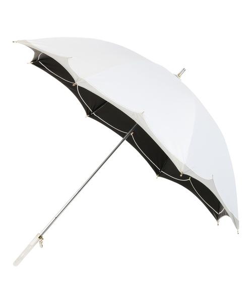 日傘 バイカラー切り継ぎ