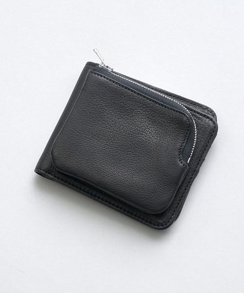 新品 RENレザー財布 ベビーバッファロー・外ポケウォレット, アイズコンタクト fd251cda
