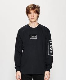 <TEAM COZY> THE CHAMP LS T/Tシャツ