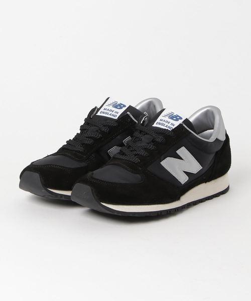 8ff66abe71915 New Balance(ニューバランス)の「NATIONAL CLASS(スニーカー)」|ブラック