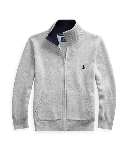 素晴らしい コットン フルジップ フルジップ セーター(ニット/セーター)|Polo LAUREN Ralph RALPH Lauren Childrenswear(ポロラルフローレンチャイルドウェア)のファッション通販, Abe Web Shop:b6ffd31f --- munich-airport-memories.de